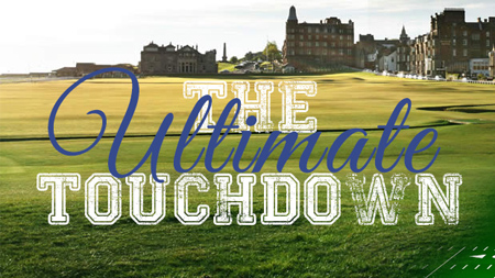 Enjoy the Old Course before jetting down to London for NFL action