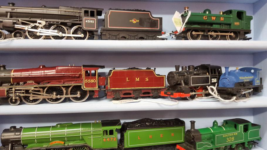 Toys from your childhood at the Hamiltion Toy Museum, Callander