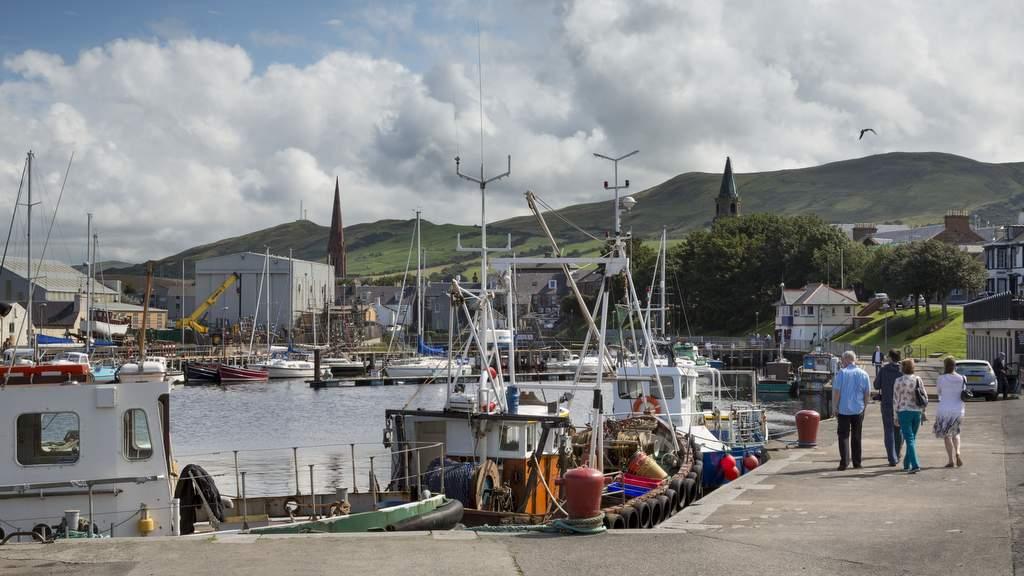Girvan harbour, Ayrshire.jpg