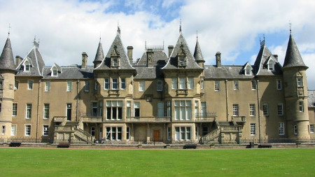 Callander house and Park