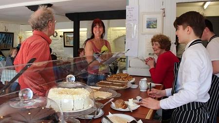 Great range of fresh home baking