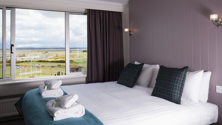 The Royal Golf Hotel offers the visitor to Dornoch some of the finest accommodation in the North Highlands with 22 en suite bedrooms and with no two rooms identical