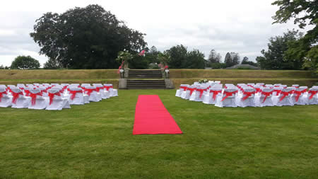 Set in magnificent grounds, it is the ideal romantic setting for your wedding