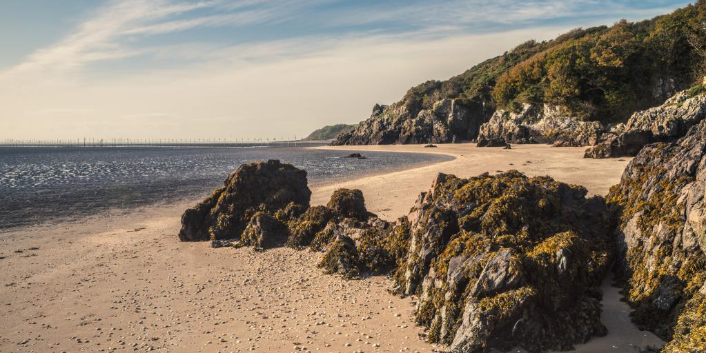 The beautiful coastline is home to a range of wildlife and dramatic scenery