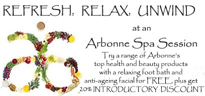 Arbonne health and beauty products