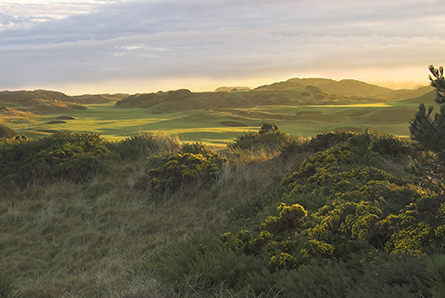 2 nights, 1 evening meal, 1 round of golf on Royal Troon and 1 round of Golf on Troon Portland. From £425pp sharing
