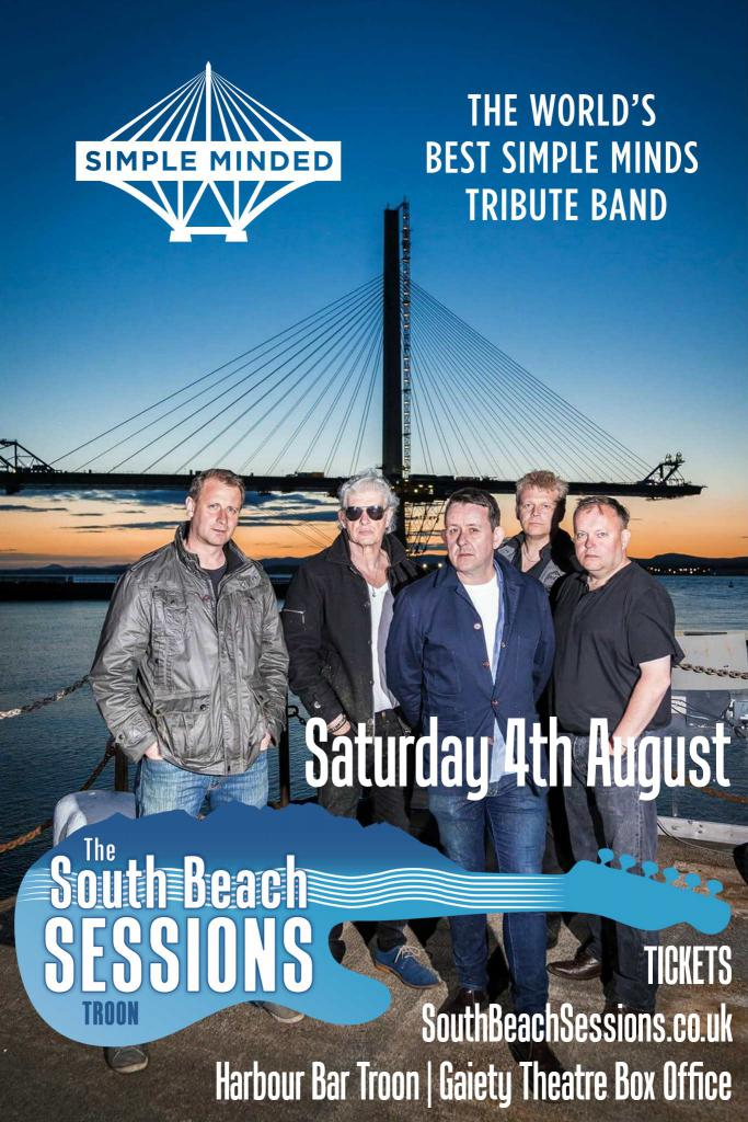 Simple Minded + Deacon Blues | Sat 4th Aug