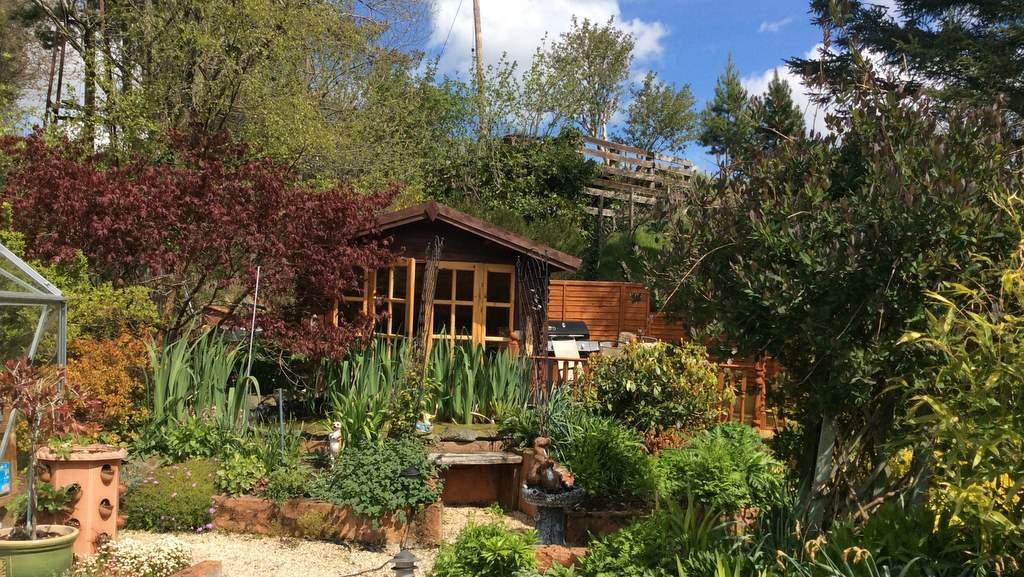 Gardens at Castleview B&B, Dufftown