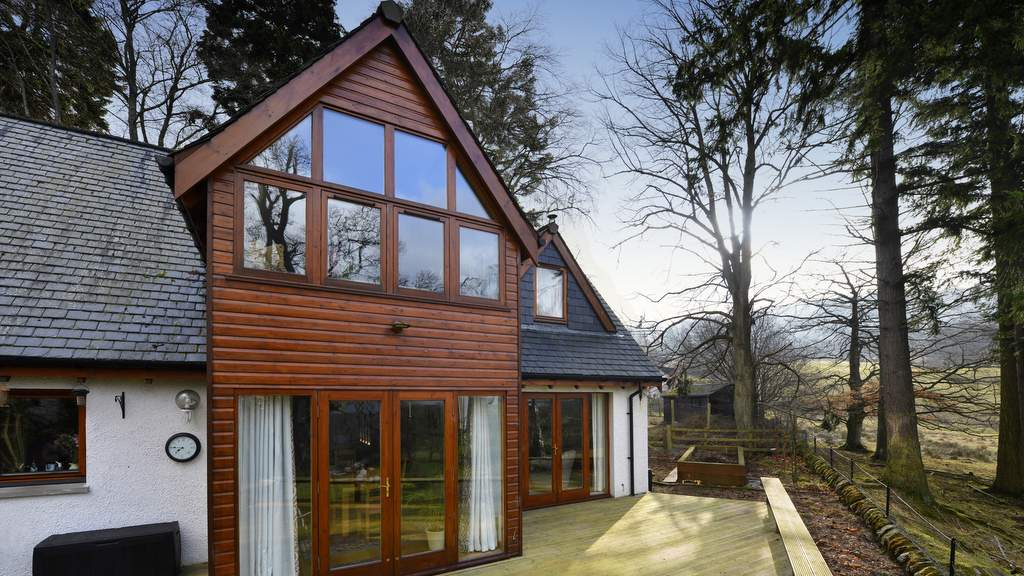 Brae House in Aberfeldy