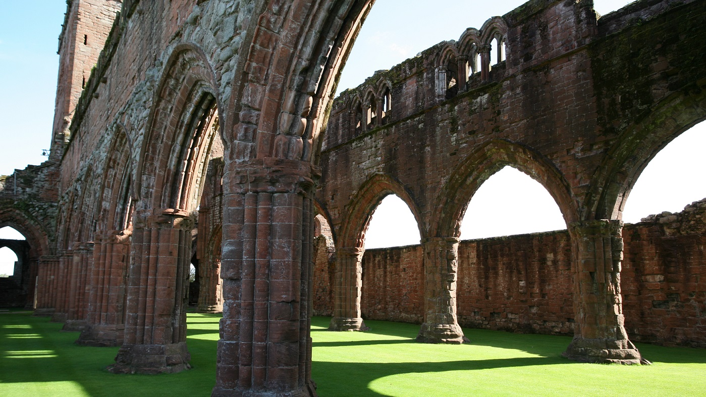 Sweetheart Abbey taken by the Waterside Rooms