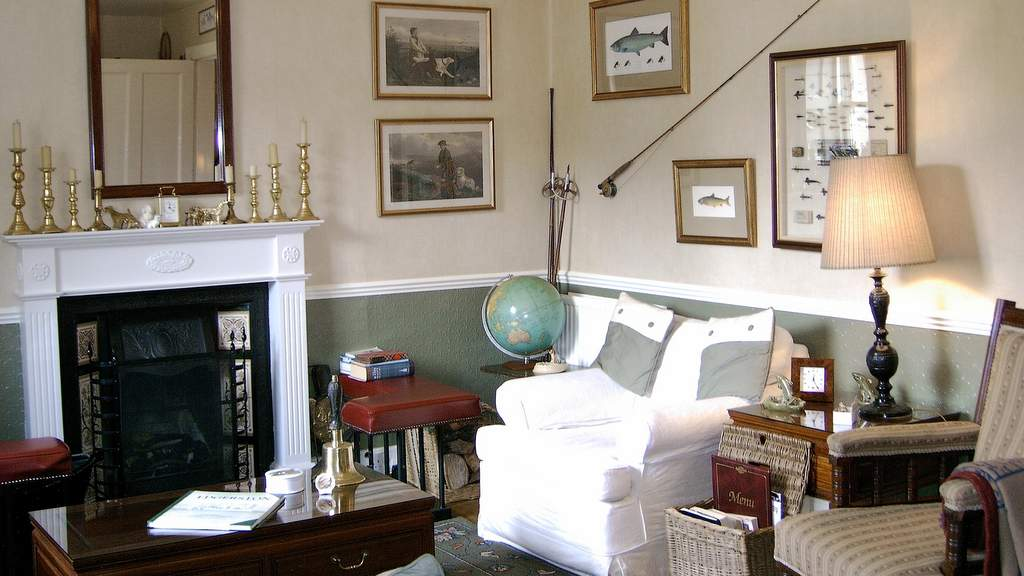 Guest Lounge at The School House B&B near Jedburgh