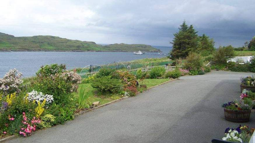 Garden and Views from Ashaig on the Isle of Skye