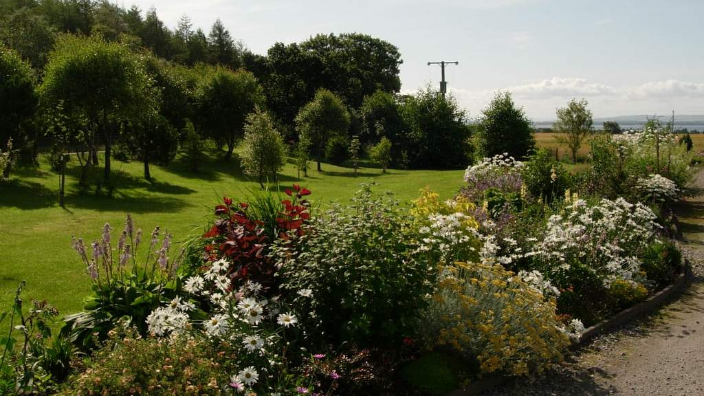 Gardens at Auchlea B&B in Dornoch