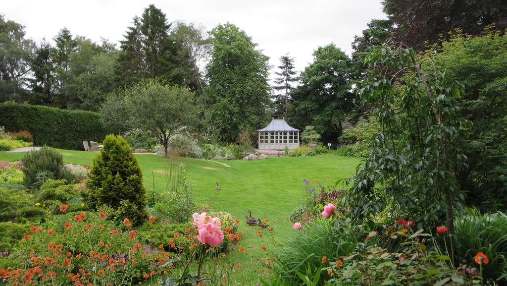 Garden at The Dulaig in Grantown on Spey