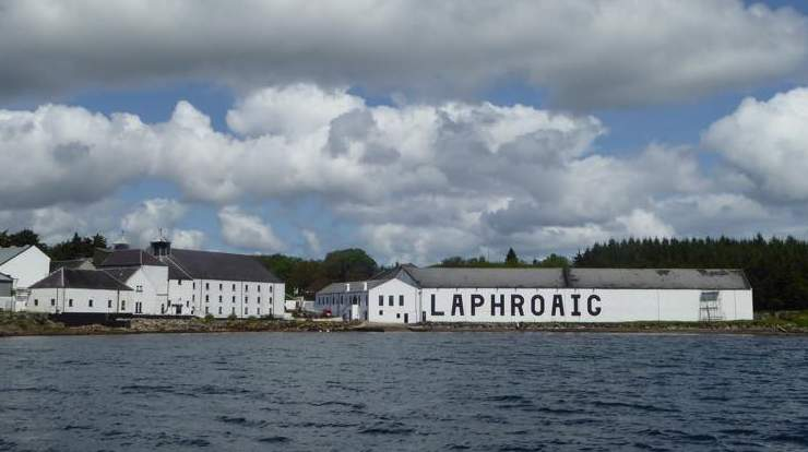 Laphroig Distillery - Photo by Glenegedale House on the Isle of Islay