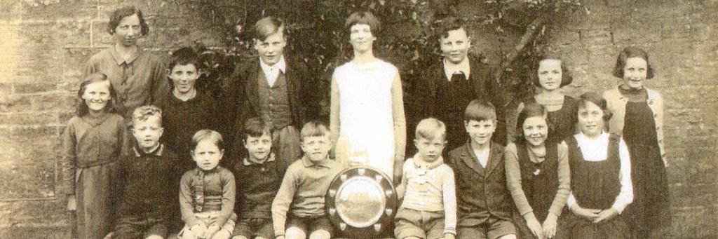 1937 Pupils at The School House B&B, Jedburgh