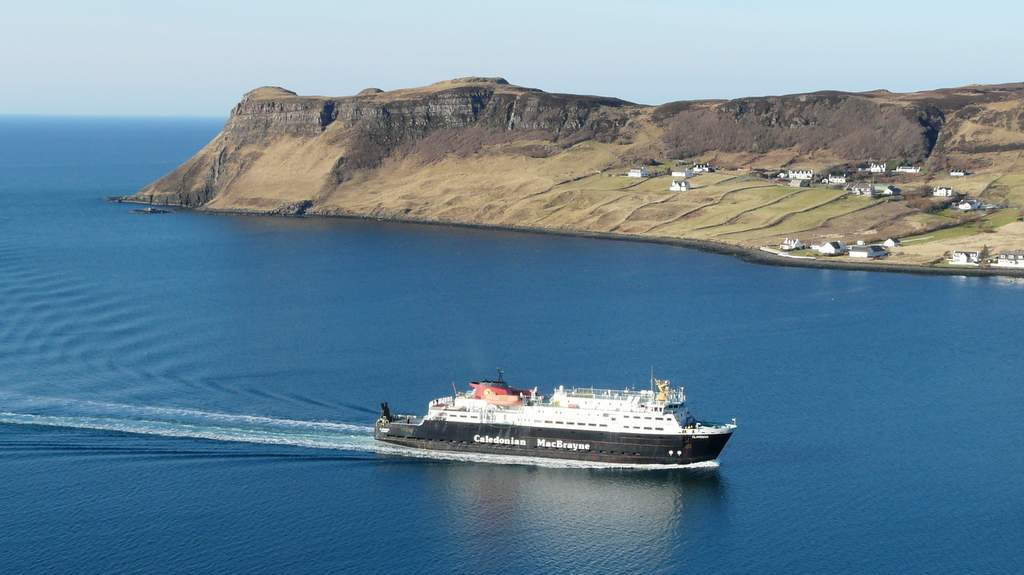 Ferry arriving on Skye - Photo by Cuil Lodge on the Isle of Skye