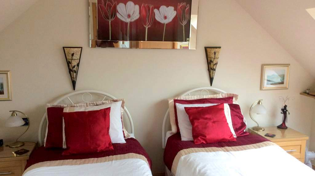 Guest Bedroom at Castleview B&B, Dufftown