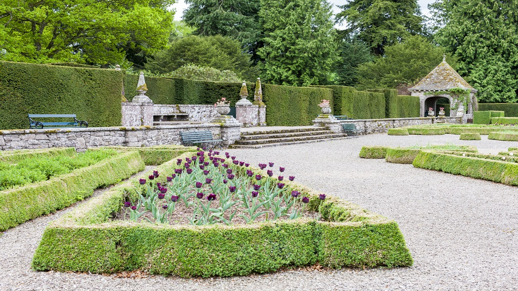 Gardens at Glamis Castle