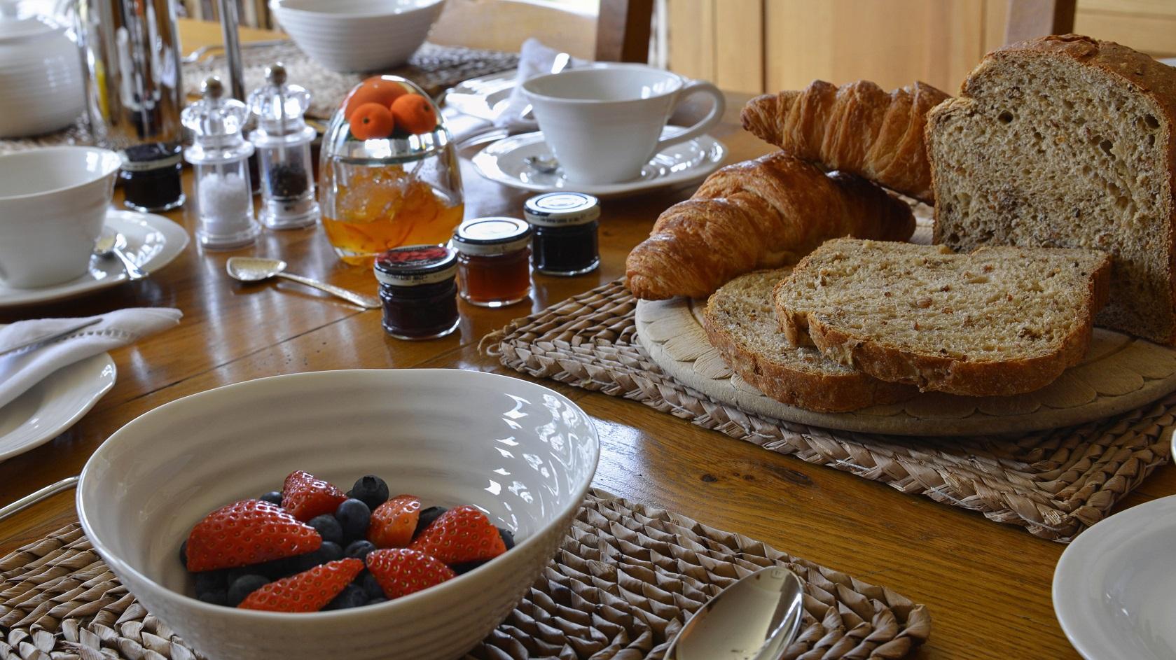 Breakfast at Brae House in Aberfeldy