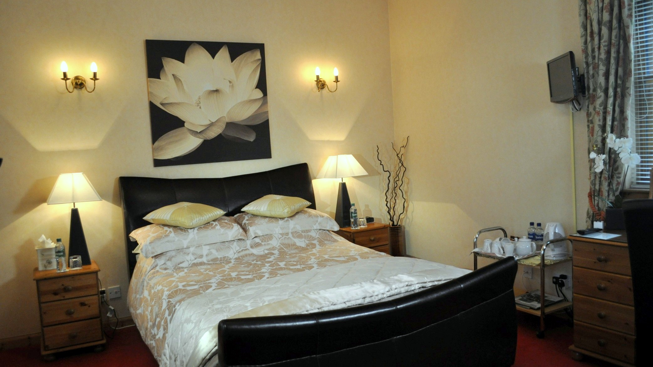 Guest Bedroom at Strawberry Bank House, Linlithgow
