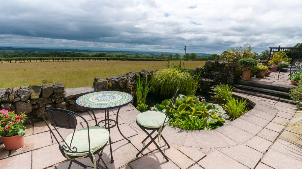 Garden and Views from Torbeckhill B&B in Lockerbie