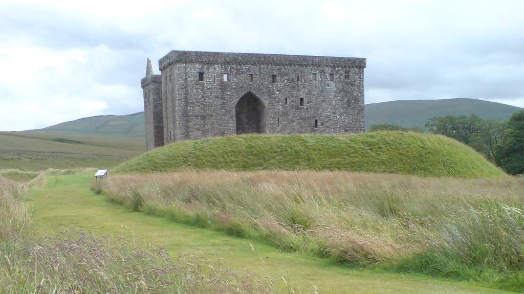 Hermitage Castle - Photo by Garvally House in Alloa