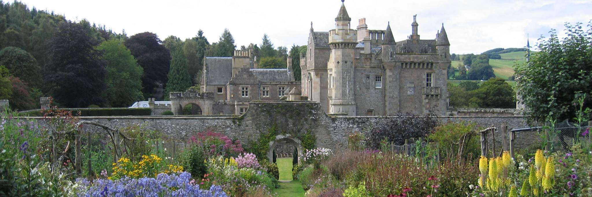 Abbotsford House in the Scottish Borders