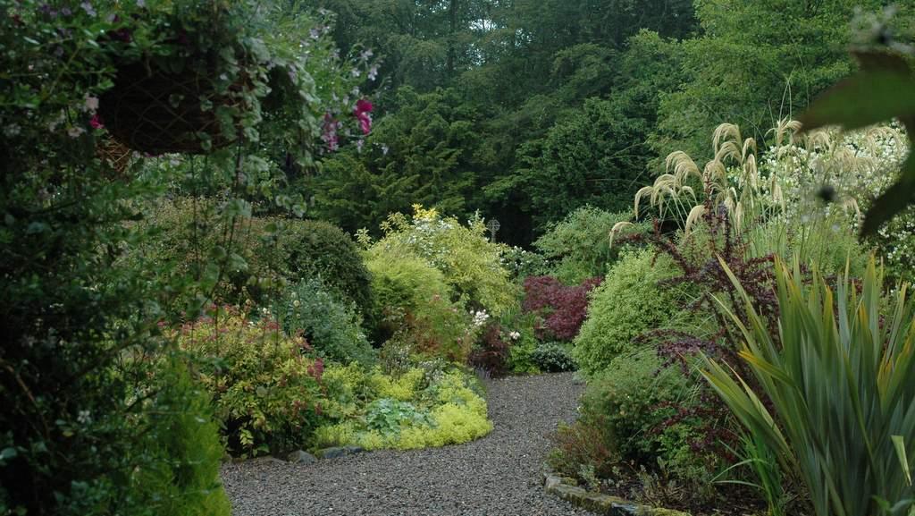 Gardens at The School House near Jedburgh