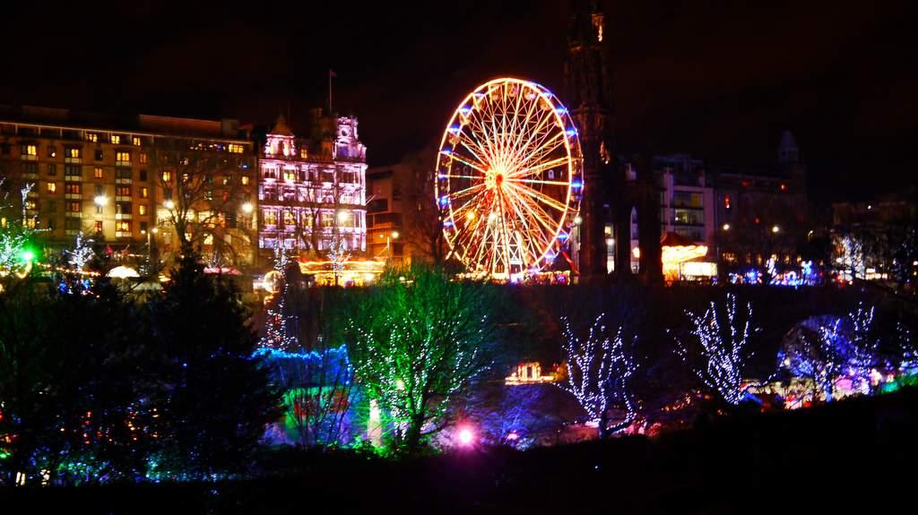 Edinburgh Christmas Market and Hogmanay