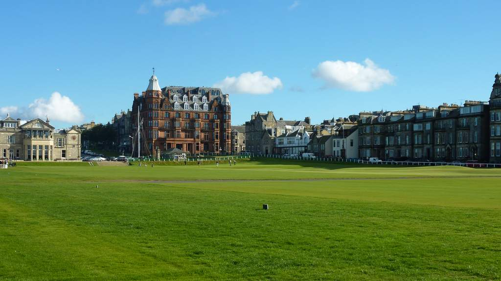 The Old Course at St Andrews