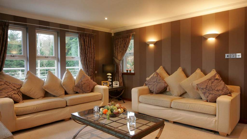 Guest Lounge at Ayrs and Graces near Alloway