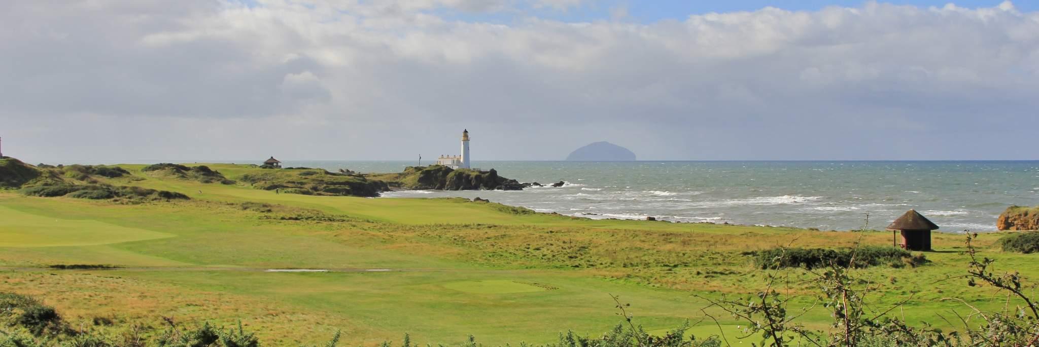Golfing in Ayrshire