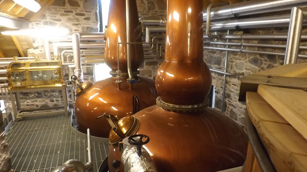 Ballindarroch Distillery - Photo by Casteview B&B, Dufftown