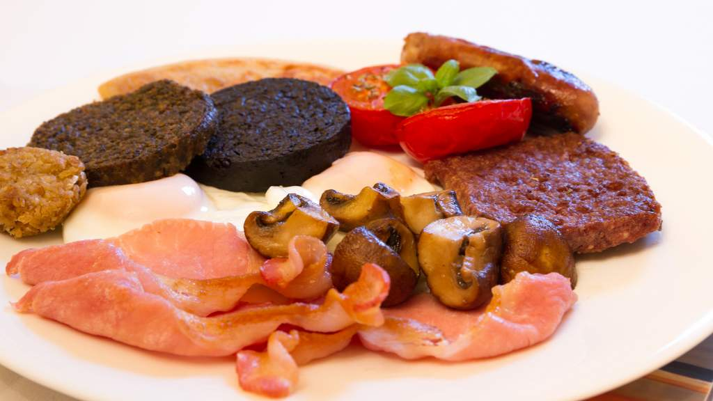Breakfast at Arden Country House, Linlithgow