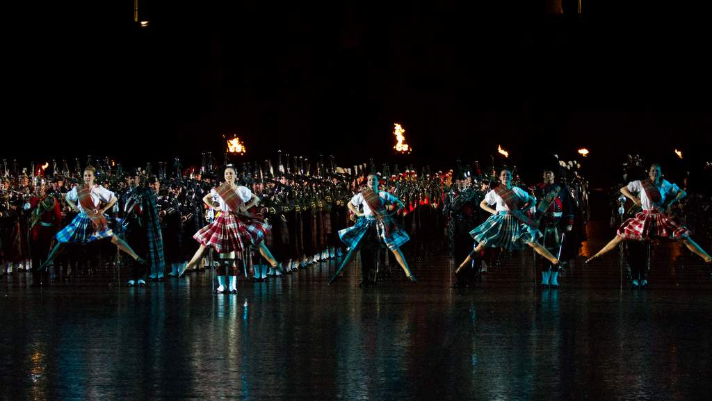 Edinburgh Military Tattoo near Arden Country House