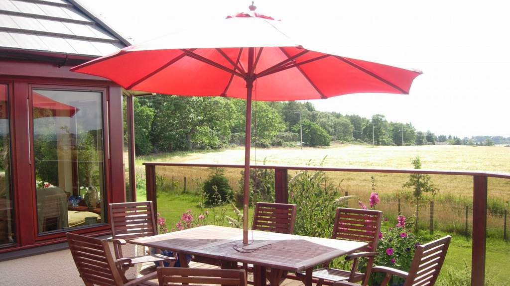 Outdoor Seating at Auchlea B&B