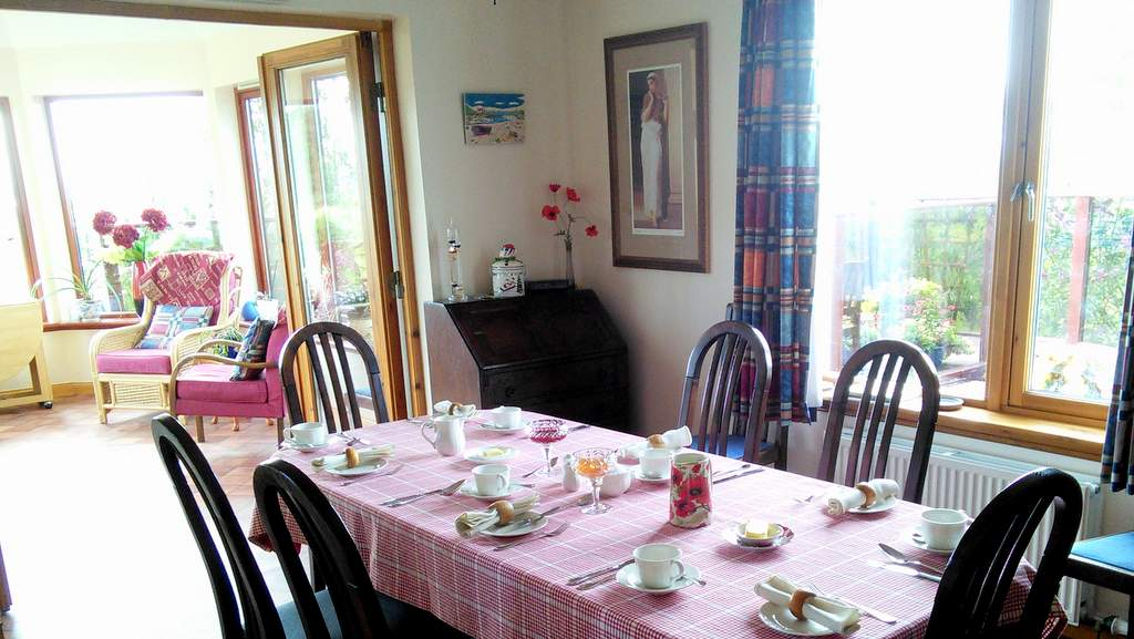 Dining Room at Auchlea B&B