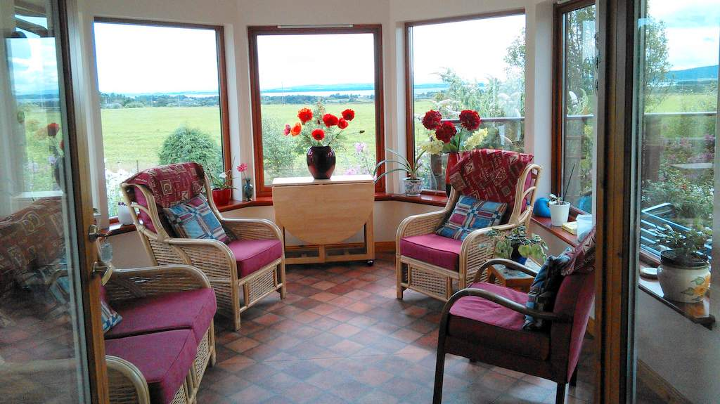 Sunroom at Auchlea B&B