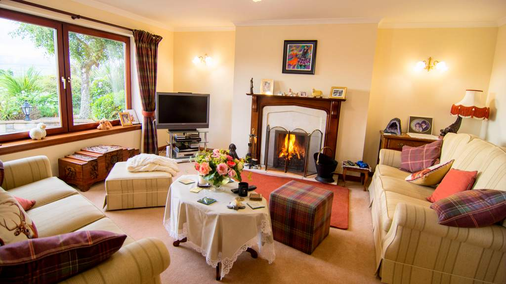 Guest Lounge at Ben Wyvis Views B&B