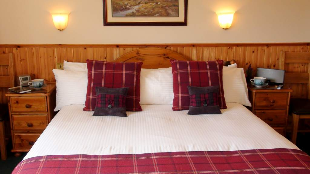 Guest Bedroom at Binnilidh Mhor B&B