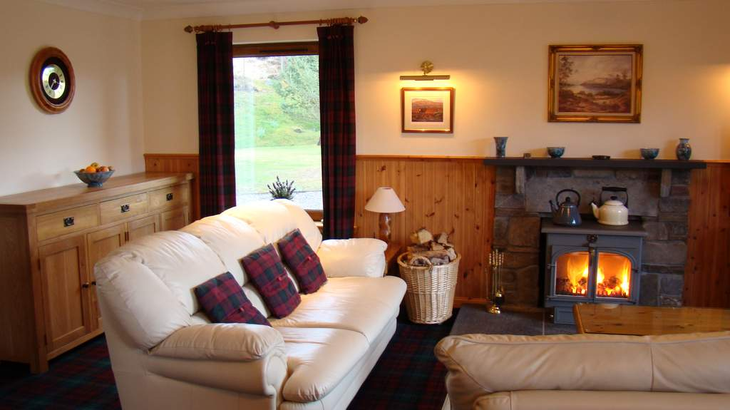 Guest Lounge at Binnilidh Mhor B&B