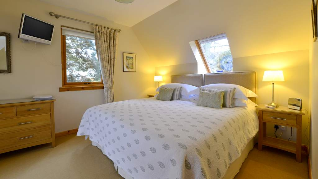 Guest Bedroom at Brae House B&B