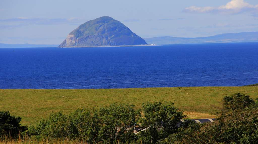 Ailsa Craig Near Cosses Country House