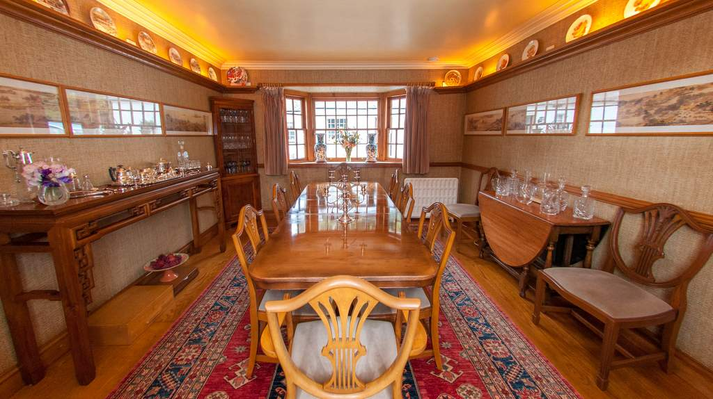 Dining Room at Cosses Country House