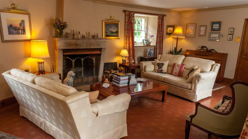 Guest Lounge at Cosses Country House