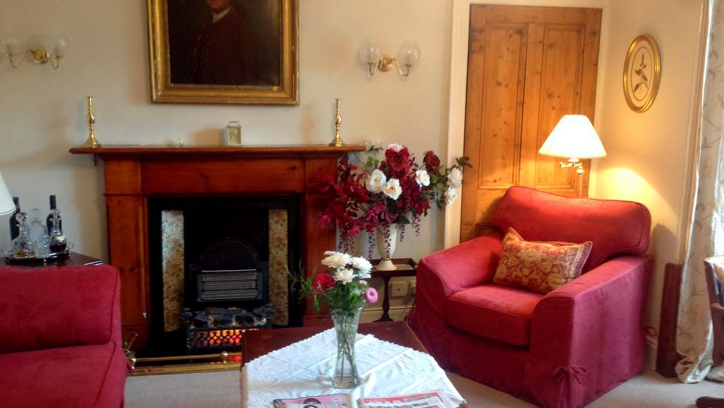 Guest Lounge at Craigvar B&B