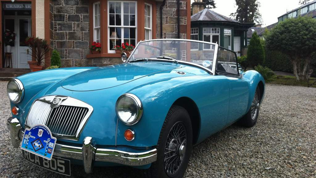 Classic Cars welcome at Craigvar