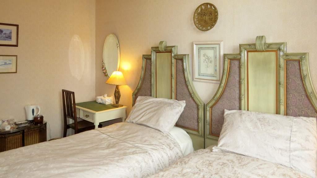 Guest Bedroom at Duntrune House