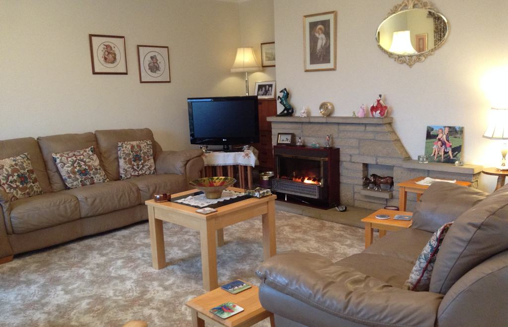 Lounge at Easter Glentore Farm B&B